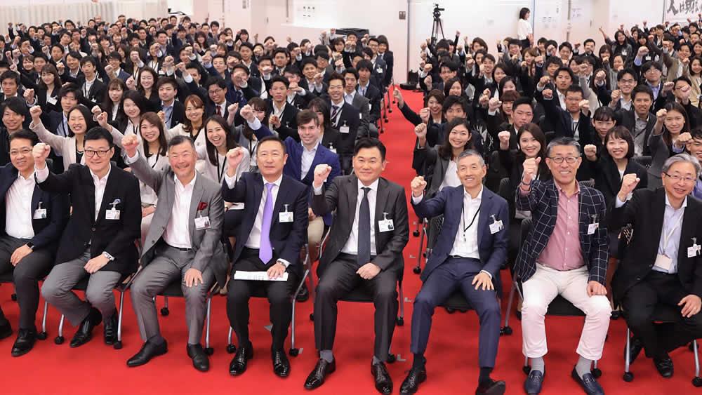 2019年 4月新卒入社式開催