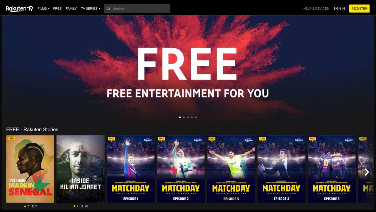 無料動画ストリーミングサービスで進化を遂げるRakuten TV