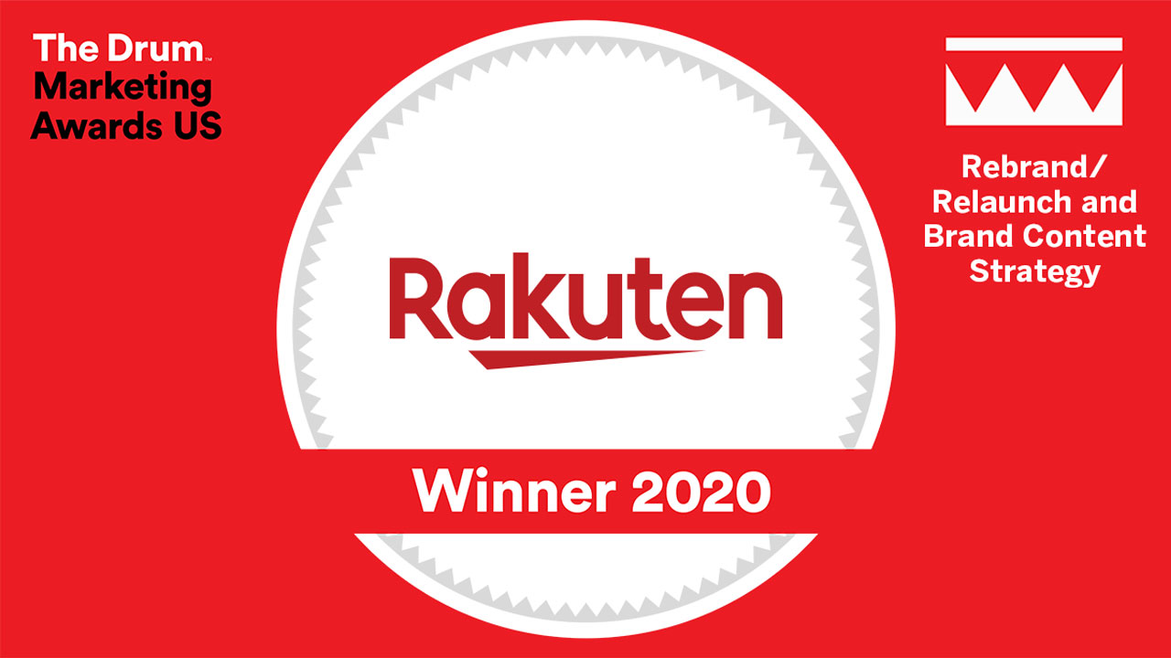 Rakuten RewardsがThe Drum Marketing Awards USA 2020 で受賞