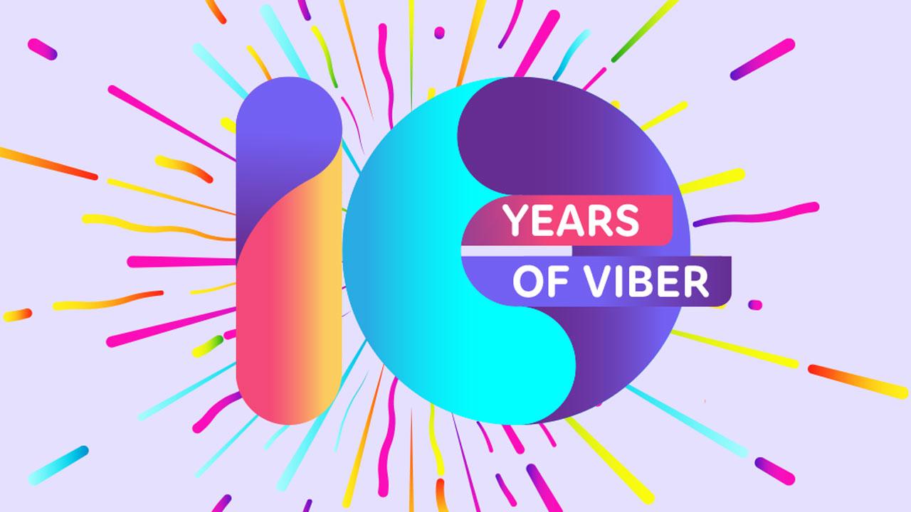 Viber、世界をつないで10周年!